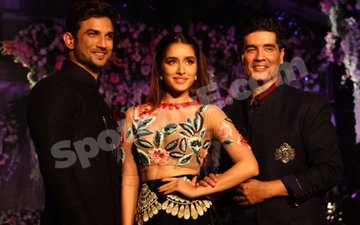 Shraddha-Sushant dazzle at Manish Malhotra's show for Lakme Fashion Week
