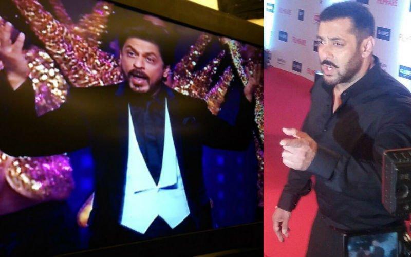 SRK rocks with Alia, Salman mollifies lensmen