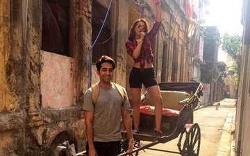 Exclusive pix of Parineeti-Ayushmann from Kolkata