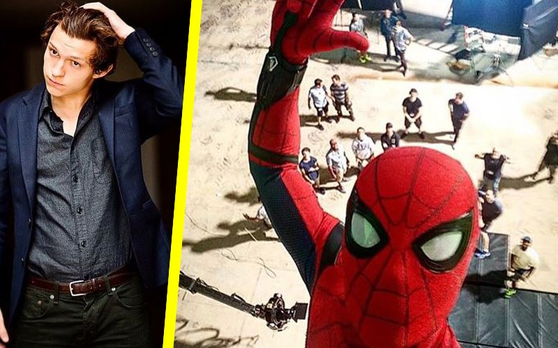 Tom Holland's Spidey selfie from Spider-Man: Homecoming sets is here