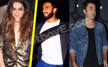 Ranbir & Ranveer groove to Deepika's songs at Filmfare Editor's b'day bash