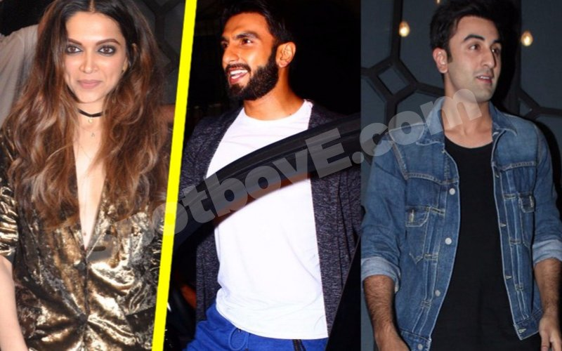 Ranbir & Ranveer groove to Deepika's songs at Filmfare Editor's b'day bash