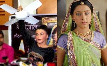 Rakhi Sawant blames 'Ceiling Fan' to be the cause of Pratyusha's death!