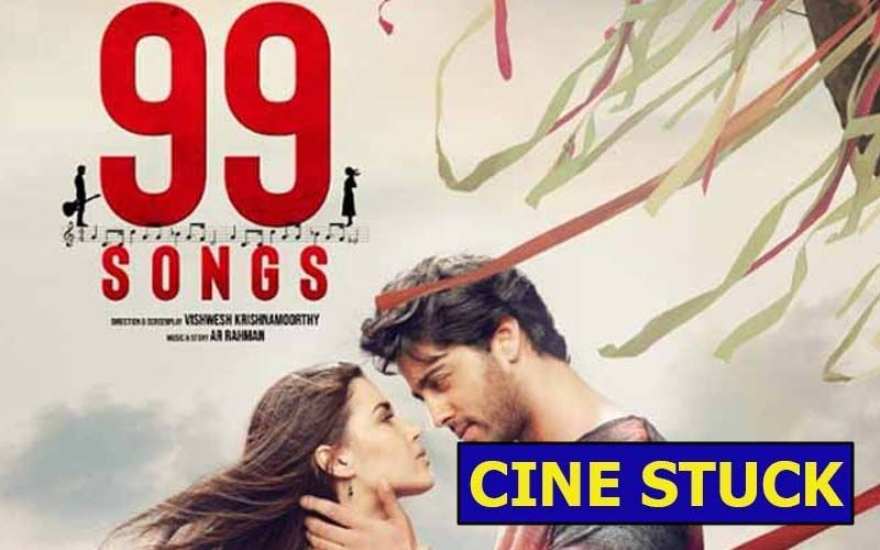 CINE STUCK: 99 Songs- Why Is Edilsy Vargas, A Foreigner, Playing An Indian In AR Rahman's Production?