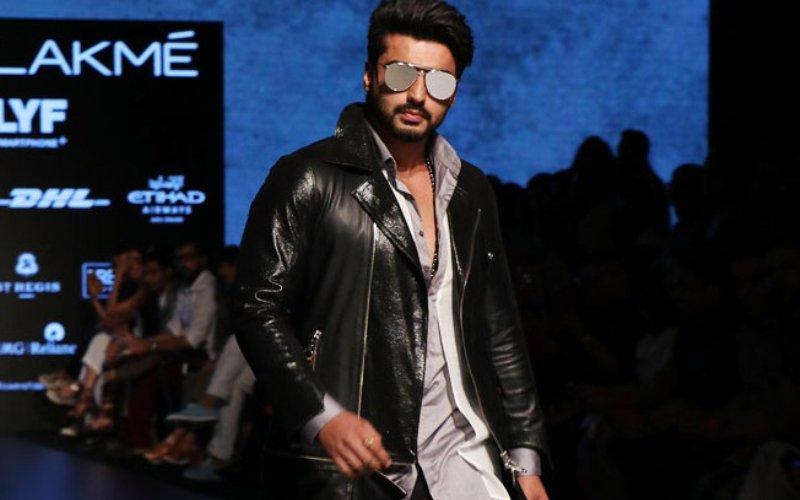 Arjun Kapoor Turns Showstopper At Lakme Fashion Week