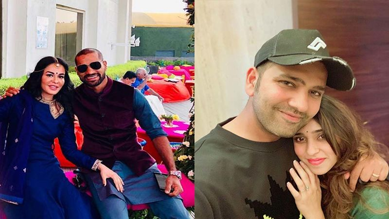 Karwa Chauth 2019: Star Cricketers Rohit Sharma And Shikhar Dhawan Wish Their Wives