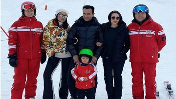 Nawabi Couple Kareena Kapoor Khan And Saif Ali Khan's First Picture With Taimur From Switzerland Vacay Is Unmissable