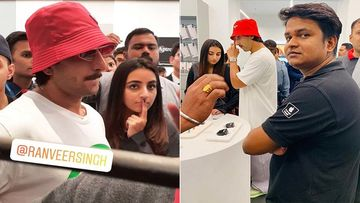 Ranveer Singh Goes Shopping With Cousin In A Mumbai Mall; Sends Fans And Security In A Tizzy - Video