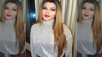Rakhi Sawant Visits The Google Office In The USA; Leaves Her 'Autograph' On The Google Wall- VIDEO