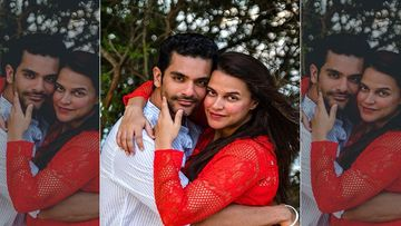 Angad Bedi Shares Throwback Poll Pictures From Their Maldives Vacay; Wife Neha Dhupia Comments, 'Let's Go Back'