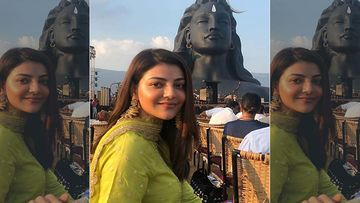 Kajal Aggarwal Wedding: Actress Shares An Arresting Picture Taken A Few Minutes Before She Tied the Knot