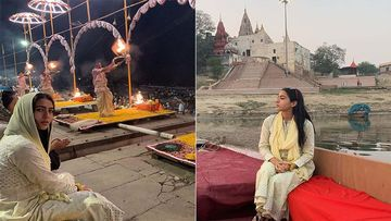 Sara Ali Khan Shares Pictures Of Her Divine Break At The Ganges