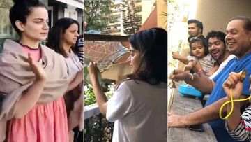 Janta Curfew: Kangana Ranaut, Janhvi Kapoor, Varun Dhawan And Others Follow PM Modi's Instructions; Clap Hands At 5- VIDEO