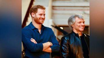 Prince Harry Collaborates With Jon Bon Jovi To Unveil Their Single Titled, Unbroken