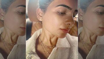 Samantha Akkineni Flaunts Her Sexy YMC Tattoo Inked On Her Nape As She Hits The Gym