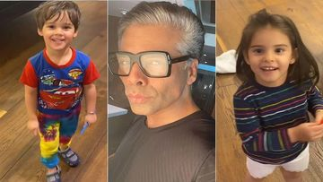 Amid NCB Drug Probe, Karan Johar Returns To Mumbai From Goa With His Kids Yash And Roohi, Mom Hiroo Johar