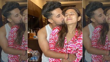 Ravi Dubey Plants A Kiss On Birthday Girl Sargun Mehta's Cheek, Pens A Heartfelt Note: 'Can't Define What You Mean To Me'