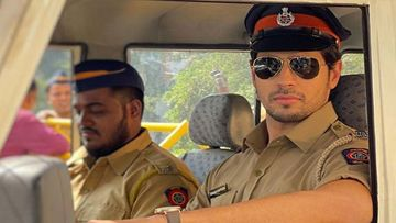 Thank God First Look: Sidharth Malhotra Looks Dashing As A Cop; Actor Adds Rohit Shetty's Connect To It