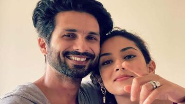 Mira Rajput Shows How Hubby Shahid Kapoor Wakes Her Up During Their Maldives Vacay- Take A Look