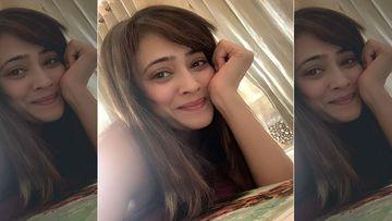 Shweta Tiwari Looks Stunning In A Blingy Silver Number; Ekta Kapoor, Nivedita Basu And More Shower Compliments