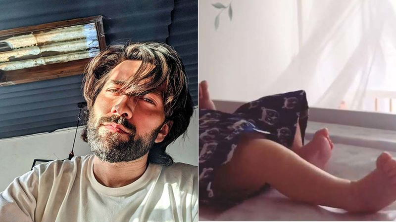 Nakuul Mehta Drops A Glimpse Of His Son Sufi Kicking Some Air; His Boomerang Video Is Too Cute To Handle