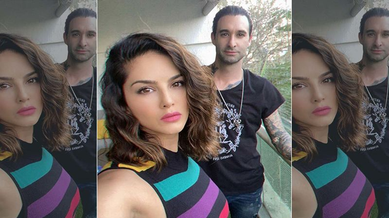 Sunny Leone Can't Stop Gushing Over Hubby Daniel Weber As He Helps A Woman Change A Flat Tyre; Calls Him A 'True Gentleman'- Watch Video