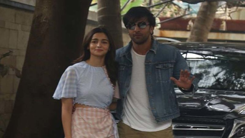 Lovebirds Ranbir Kapoor And Alia Bhatt Return From Their Maldives Vacay; Maintain Safe Distance From Paps At The Airport