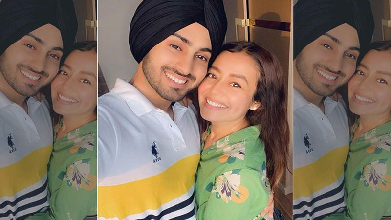 Neha Kakkar's Hubby Rohanpreet Singh Showers Her With Love And Gifts On Her Birthday; The Gift Hamper Includes A Love Letter, Bag Of Cheetos And More- VIDEO