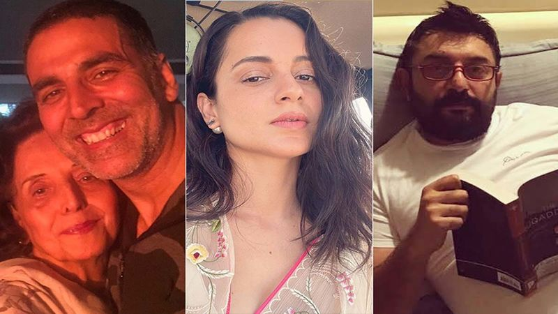 News Round: Akshay Kumar Returns To India From UK For His Ailing Mother; Kangana Ranaut-Arvind Swamy To Promote Thalaivii On The Kapil Sharma Show
