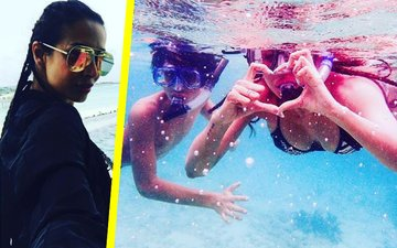 Malaika Arora holidays in Maldives with her son