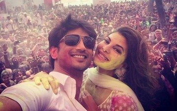 Jacqueline and Sushant get colourful