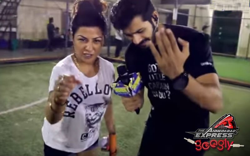 Watch Hard Kaur rapping popular Holi numbers