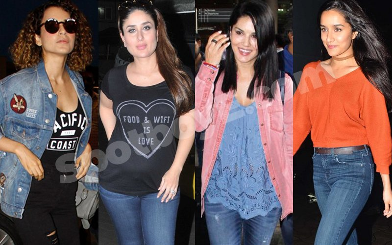 Style Is In Their Jeans For Kangana, Kareena, Sunny & Shraddha