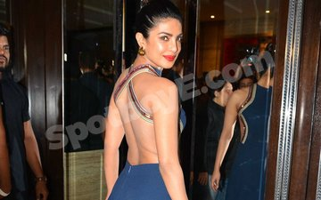 That time Priyanka's backless dress was sexy AF