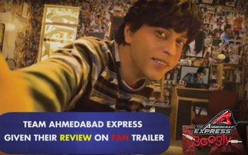 Fan trailer floors Team Ahmedabad Express