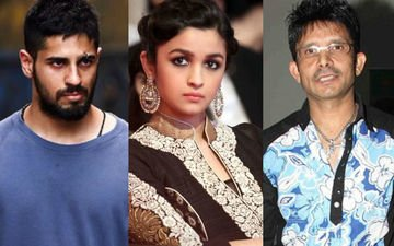 Sidharth slams KRK for his mean comment on Alia