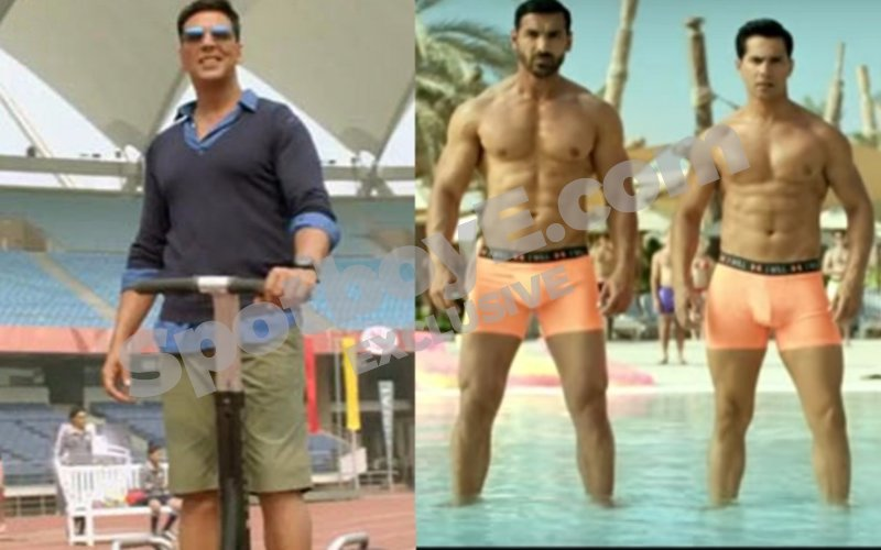 Desi Boyz again for Akshay, Khiladi Kumar's gay entry in Dishoom is a riot