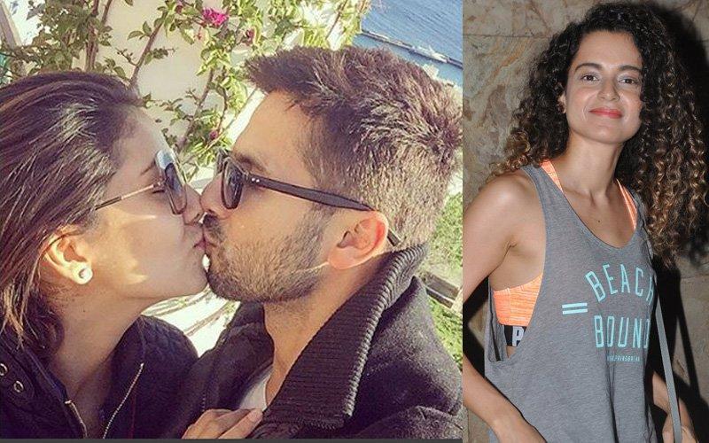 Shahid-Mira's kiss selfie, Kangana Ranaut as a housekeeper