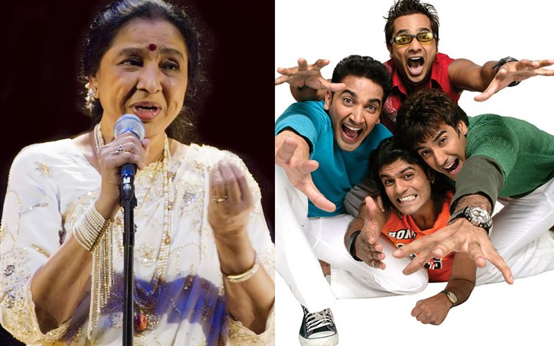 Asha Bhosle teams up with Band of Boys for her  'comeback' track