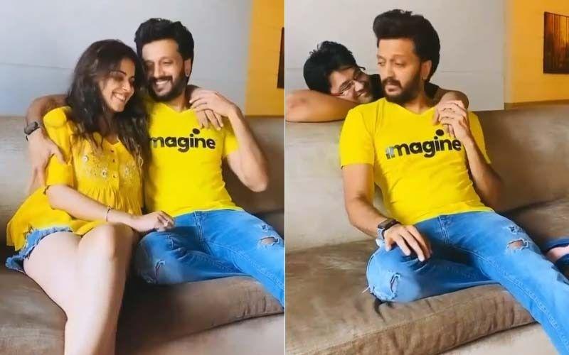 Riteish Deshmukh- Genelia D'Souza's Romantic Video Gets A Hilarious Twist Featuring Milap Zaveri; This Prank Video Will Leave You In Splits