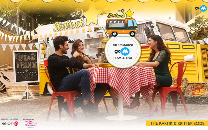 9XM Startruck With Kartik Aaryan And Kriti Sanon- Catch The Episode Tomorrow!