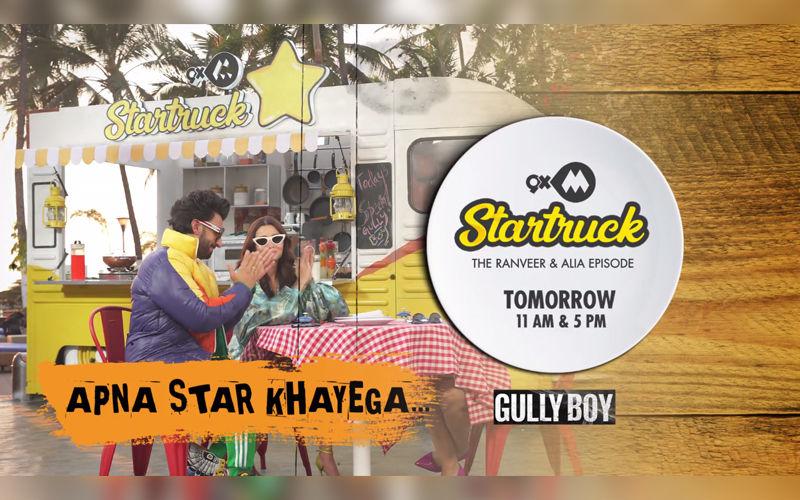9XM Startruck With Ranveer Singh And Alia Bhatt- Catch The Episode Tomorrow!