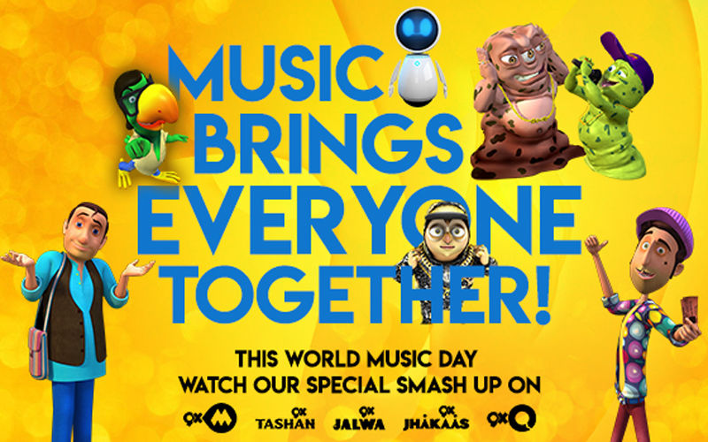 9X Media Celebrates World Music Day – Creates First Smashup With Indian And International Songs