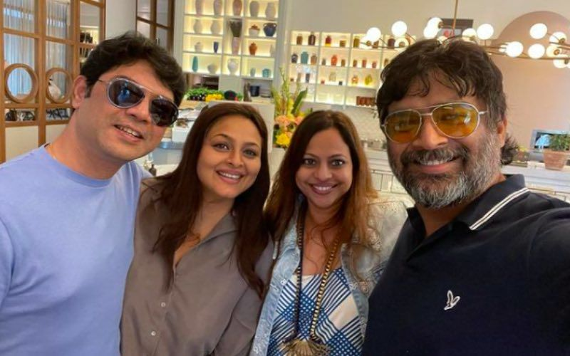 '90s Star Shilpa Shirodkar Spends Day 'Chitchatting' With R Madhavan And Wife; Calls Them 'The Sweetest And Most Humble Couple'