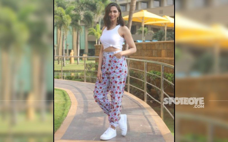 Deepika Padukone's Recent Comfy Yet Chic Look For Alibaug Shoot Is Perfect For A Summer Day