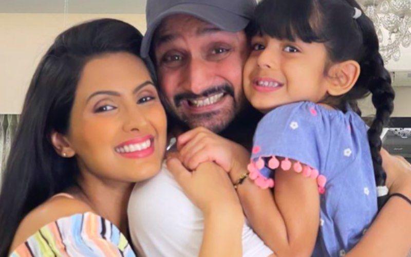 Geeta Basra, Harbhajan Singh, Daughter Hinaya Pose For Paps As They Take Their Newborn Baby Boy Home