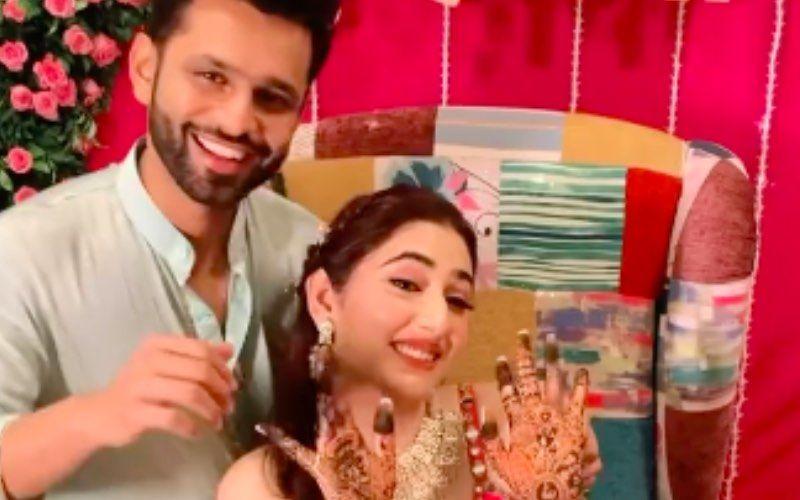 Rahul Vaidya-Disha Parmar Wedding Updates: Bride-To-Be Looks Radiant In Mehendi Ceremony- FRESH VIDEOS