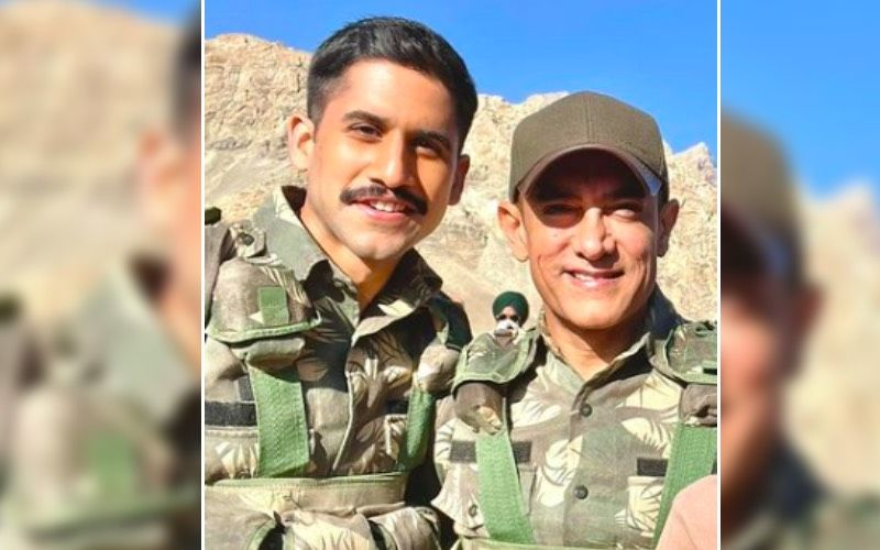 Laal Singh Chaddha: It's A Wrap For Naga Chaitanya; Actor Gets A Grand Farewell As He Celebrates With Aamir Khan And Team-Watch