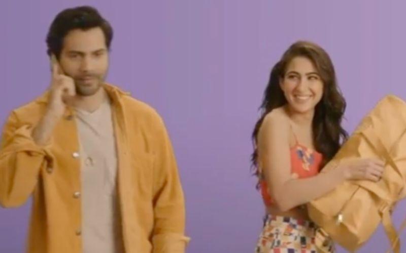 Coolie No 1: Varun Dhawan Recalls The Hilarious MomentOf Meeting Sara Ali Khan For The First Time