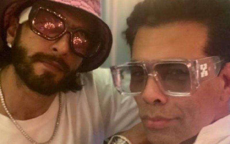 Rocky Aur Rani Ki Prem Kahani: Karan Johar Takes A Cool Selfie With Ranveer Singh As They Begin Prep For Rom-Com Flick- See Pic